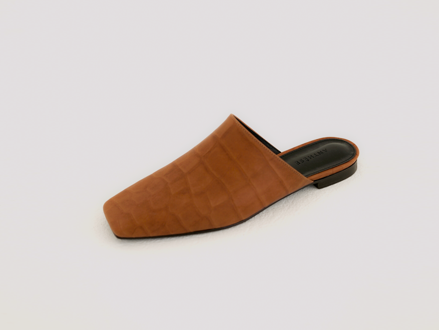 anthese boston slide mule , camel