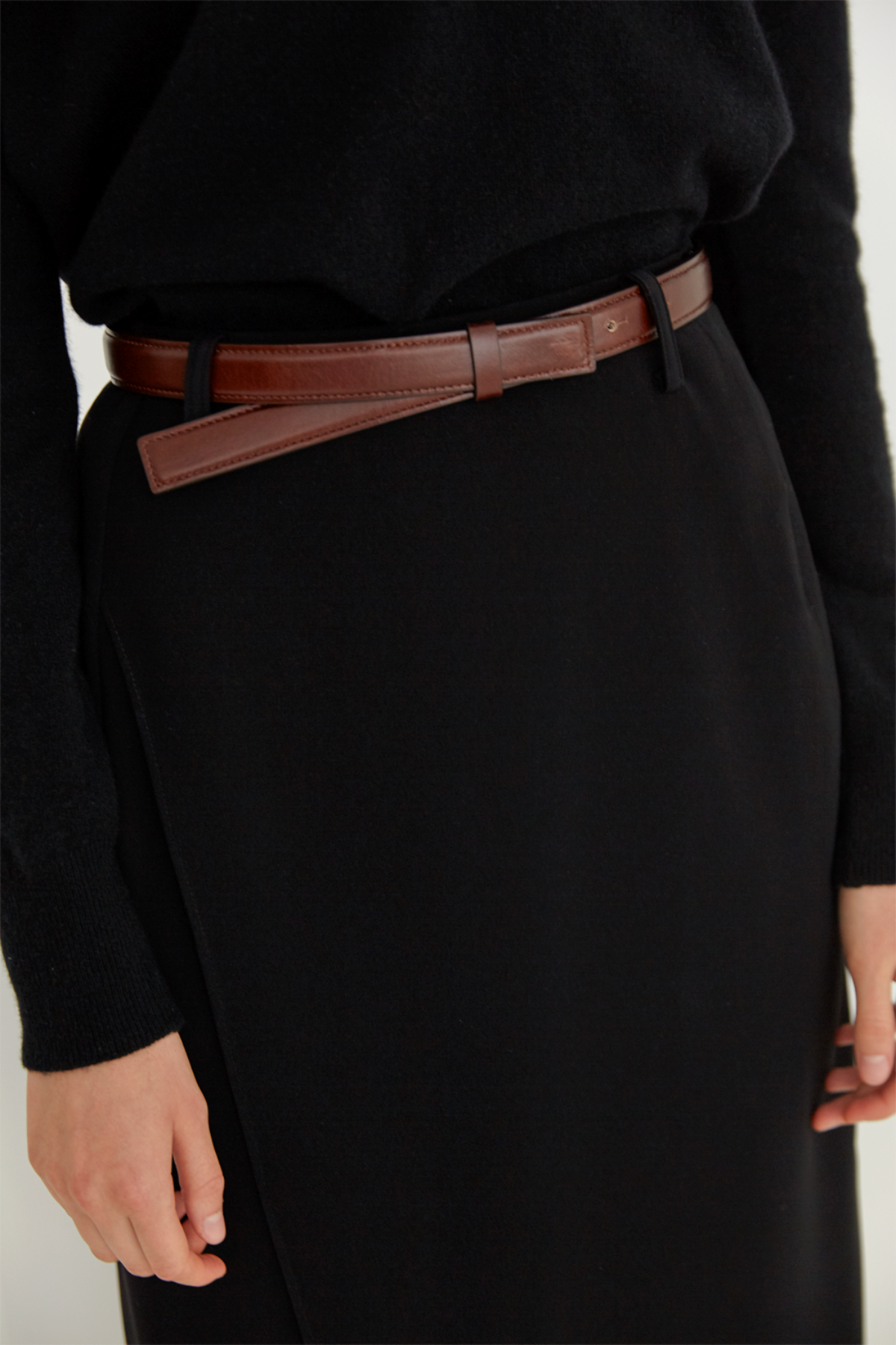anthese classic belt, brown 1