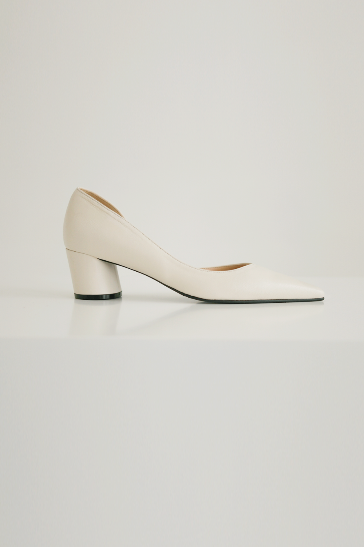 anthese pin stiletto heel, ivory