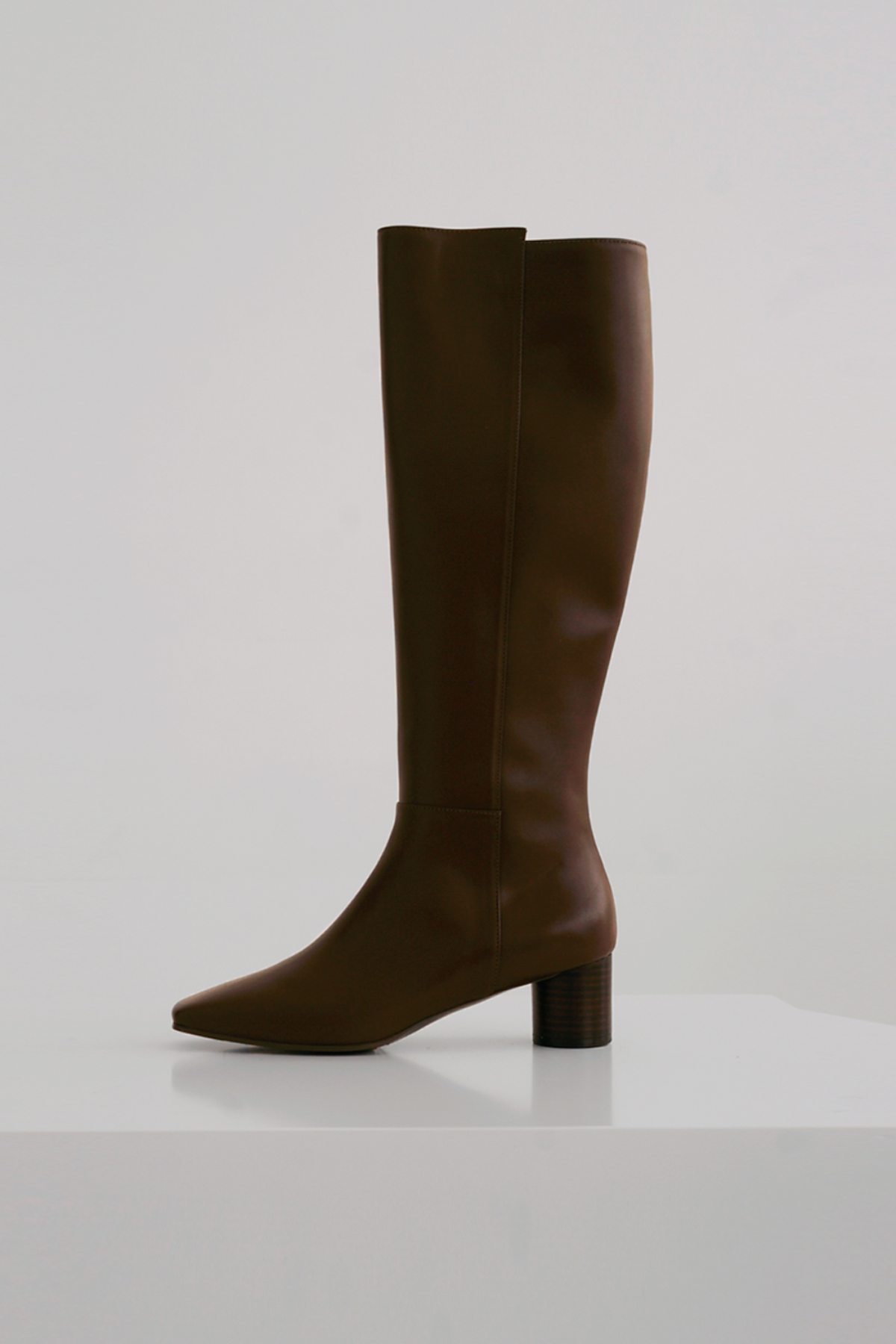 anthese ruben long boots, brown