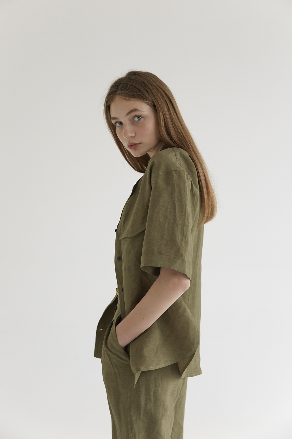 anthese ribera calla jacket, khaki (2re-order 40%)